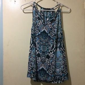 New , beautiful prints polyester top